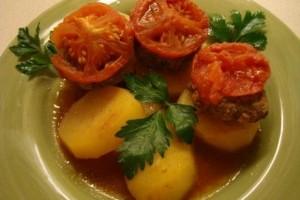 Kafta (chiftele) cu cartofi